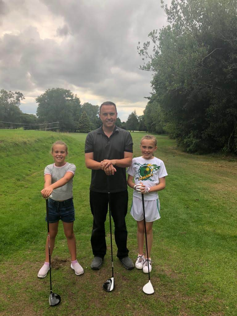 The future of golf is in safe hands
