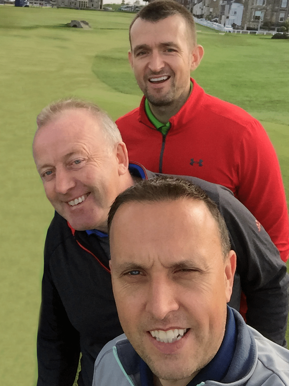 The boys at the home of golf
